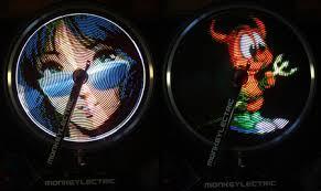 Monkey Bike Lights Led Bike Wheel Display