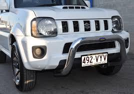 alloy nudge bar to suit suzuki jimny models 02 13 alloy motor