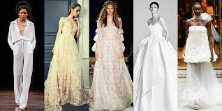 wedding dress trend 2018 bridal and wedding trends of summer 2018 10 refreshing