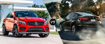 2016 mercedes benz gle vs bmw x6