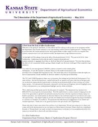 newsletters k state agricultural economics