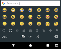 new android emojis android o beta introduces a new style of emoji no more blobs