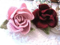 lovely roses to crochet 26 free patterns grandmother s pattern