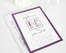 How To Design An Invitation Card Wedding Invitations Purple Plumegiant Com