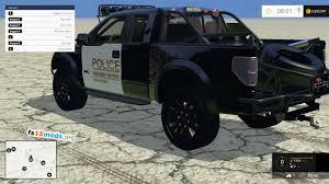 Ford Raptor Farm Truck - ford f150 raptor police interceptor car fs15 mods