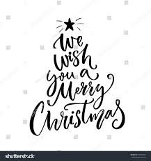 we wish you merry typography stock vector 522287830