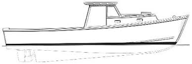 33 u0027 pot luck lobster boat boatdesign