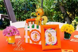 my pony centerpieces my pony birthday party ideas photo 2 of 10 catch my party