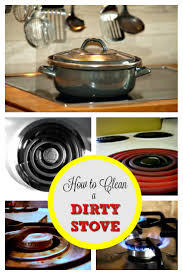 How To Clean A Ceramic Cooktop Stove How To Clean A Dirty Stove Housewife How To U0027s