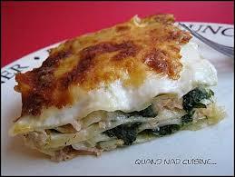 quand nad cuisine lasagnes saumon épinards quand nad cuisine cuisine
