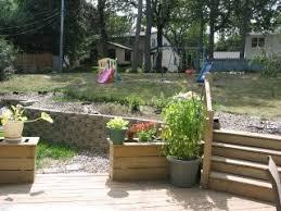Steep Sloped Backyard Ideas Backyard Landscaping Ideas