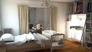 aménager la chambre de bébé amenager un coin bebe dans la chambre des parents parentale