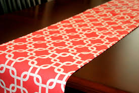 fresh design ideas coral table runners in singapore 17934