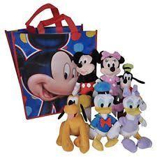 disney mickey mouse clubhouse minnie daisy donald beanbag plush