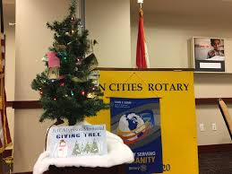 twin cities rotary giving tree makes holidays bright for local