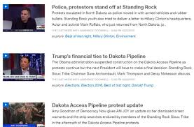 the us media is as guilty as the police at standing rock