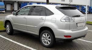 lexus crossover 2007 file lexus rx400h rear 20081220 jpg wikimedia commons