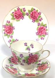 vintage china with pink roses gladstone vintage china tea set tea cup trio pink