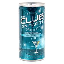 gin martini the club gin martini 200ml beer wine and liquor delivered to