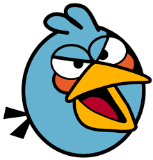 draw blue angry bird easy step step drawing