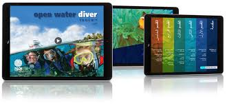 padi open water diver touch now available in arabic padiproseurope