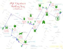 New York Airport Map by A Nyc Christmas Walking Tour Live Love Simple Map Of Airport And