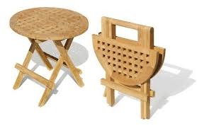 round wooden folding table wood folding table folding picnic round table a grade teak folding