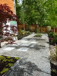 68 best gravel patios images on pinterest backyard ideas patio