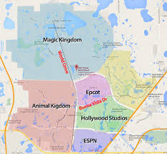 Disney Hollywood Studios Map Driving At Walt Disney World Disney College Program Tips Dcpdcp