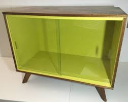 Mid Century Record Cabinet by Mid Century Record Cabinet Vintage Lp Storage Media Console