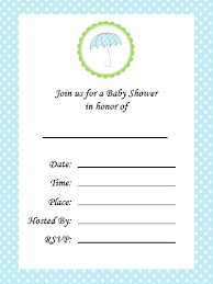 baby shower invitations for boy blank baby shower invitations free printable baby shower