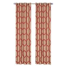 Grommet Curtains 63 Length Lavish Home Rust Metallic Grommet Curtain Panel 84 In Length