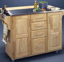 Crosley Steel Kitchen Cabinets by 10 Types Of Small Kitchen Islands On Wheels