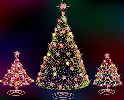 small decorated artificial trees decoration ideas