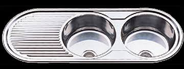 Full Range Of Kitchen Sinks Save Today On Stainless Steel Sinks - Round kitchen sink and drainer