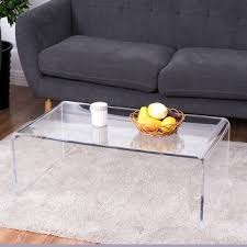 clear plastic console table acrylic furniture for less overstock com