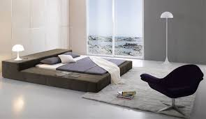 Modern King Platform Bed Excellent Modern King Bed Brown The 12 Modern King
