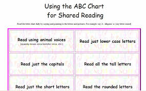 alphabet charts for jack hartman kindergarten balanced literacy