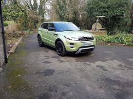 range rover evoque diesel dynamic lux pack manual in hereford