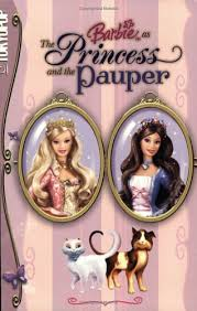 barbie princess pauper mattel