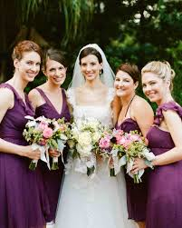 Plum Wedding Real Weddings With Purple Ideas Martha Stewart Weddings