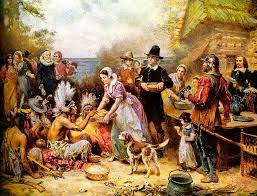 the thanksgiving world image of the pilgrims