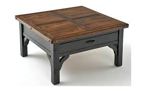 reclaimed wood square coffee table square coffee table wood brilliant fantastic with reclaimed within