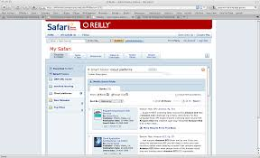 safari books online 6 0 a cloud library as an alternate model for