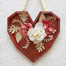 Valentine S Day Wall Decor pallet heart wall decor diy for valentine u0027s day morena u0027s corner