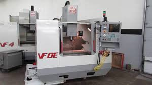 haas vf 0e vf 2 cnc vertical machining center with thru spindle