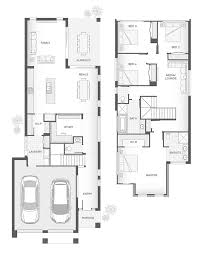 townhouse designs and floor plans the carlson double storey home design floor plan 258 5m2 4