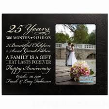 year anniversary gifts for husband personalized twenty five year anniversary gift for him