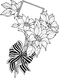 drawn flower flower bunch pencil and in color drawn flower