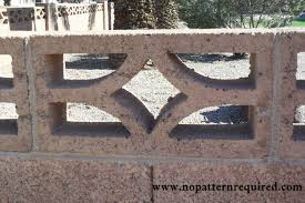 decorative concrete screen block u2013 part 2 no pattern required